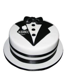 Торт костюм