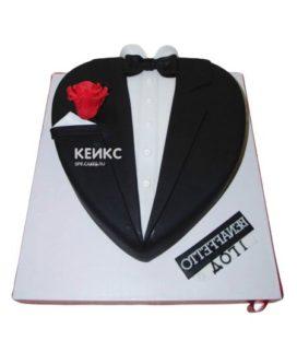 Торт костюм-8