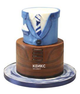 Торт костюм-9