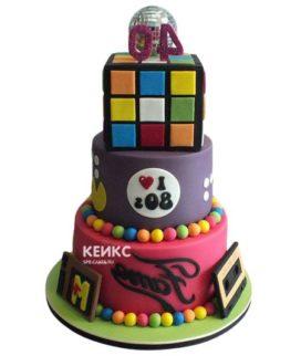 Торт кубик-рубик-1