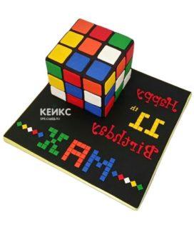 Торт кубик-рубик-2