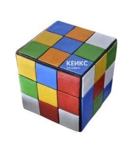 Торт кубик-рубик