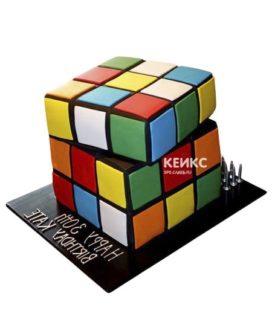 Торт кубик-рубик-6