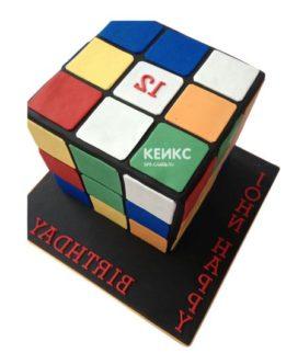 Торт кубик-рубик-7