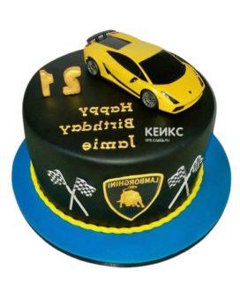 Торт ламборгини-3