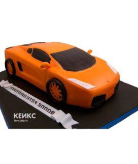 Торт ламборгини-6