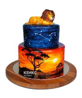 Торт лев-2