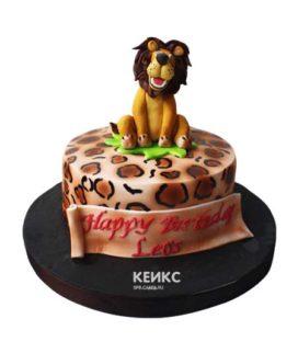 Торт лев-3