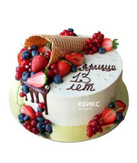 Торт маленький 5