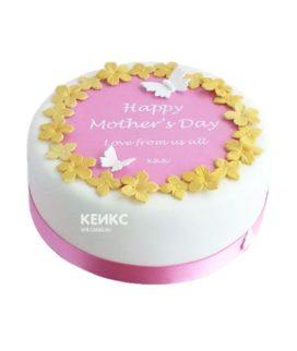 Торт маме и жене 1
