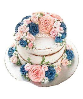 Торт маме и жене 5