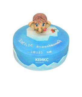 Торт мамонтенок-1