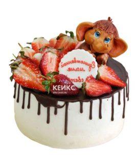 Торт мамонтенок-11