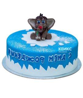 Торт мамонтенок-4