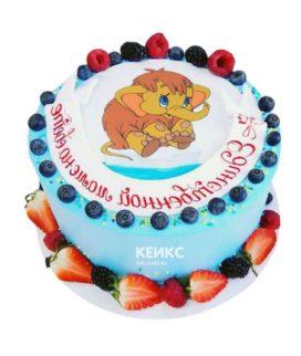 Торт мамонтенок-6