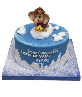 Торт мамонтенок-7