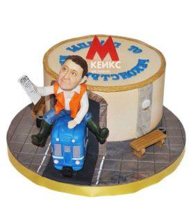 Торт метро-3