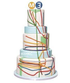 Торт метро-4