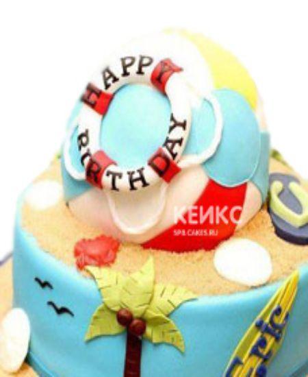 Торт море-5