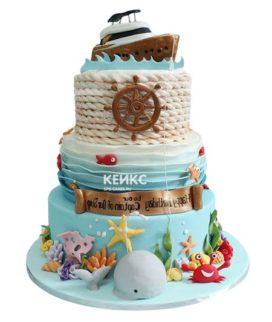 Торт море-7