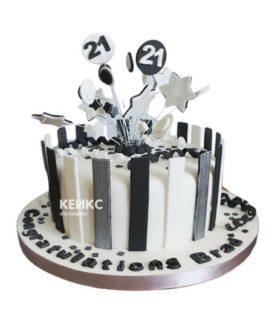 Торт мужчине на 28 лет 3
