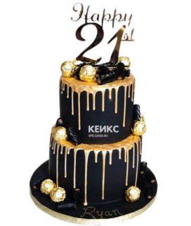 Торт мужчине на 29 лет 3