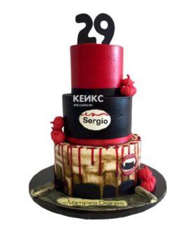 Торт мужчине на 29 лет 6