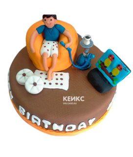 Торт мужчине на 32 года 5