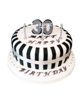 Торт мужчине на 33 года 3