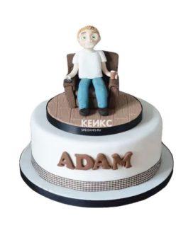 Торт мужчине на 34 года 4