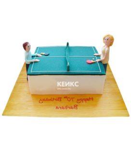 Торт настольный теннис-1