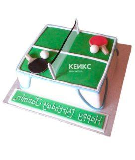 Торт настольный теннис-10