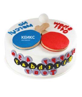 Торт настольный теннис-2