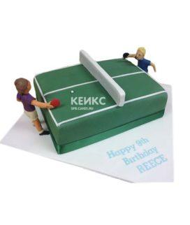 Торт настольный теннис-4