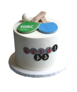 Торт настольный теннис-9