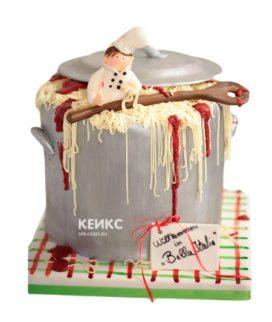 Торт необычной формы