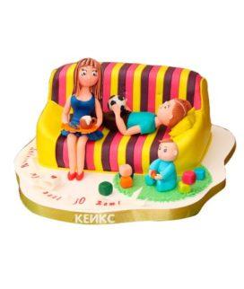 Торт необычный для мамы 4