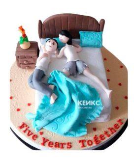 Торт необычный для мужа