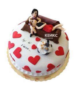 Торт необычный для мужа 3