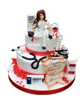 Торт необычный для женщины 1