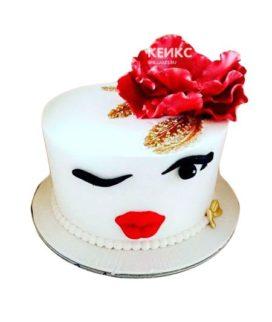Торт необычный для женщины 2