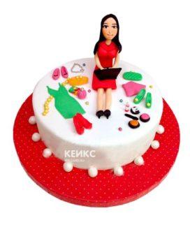 Торт необычный для женщины 4