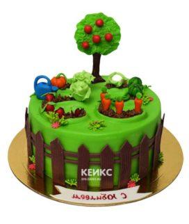 Торт огород 5