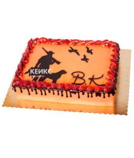 Торт охота без мастики 5