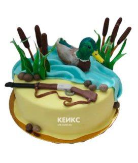 Торт охота и рыбалка