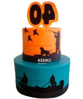 Торт охота и рыбалка-3