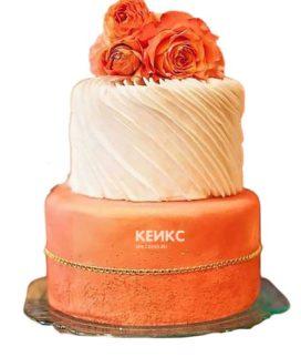 Торт оранжевый 1