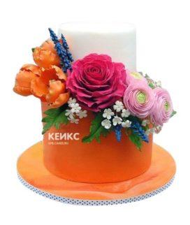 Торт оранжевый