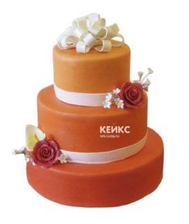 Торт оранжевый  6