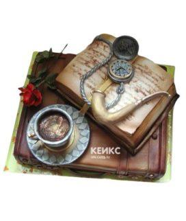 Торт открытая книга 1